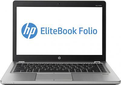 Ноутбук HP EliteBook Folio 9470m (C3C72ES) - фронтальный вид