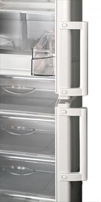 Холодильник с морозильником ATLANT ХМ 4023-400 - с открытой дверью