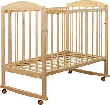 Детская кроватка СКВ 110115 (береза) - общий вид
