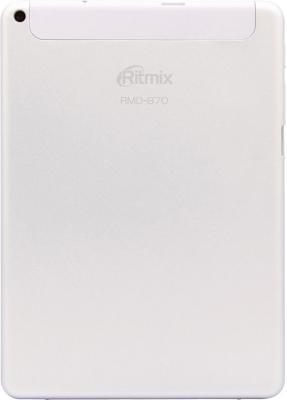 Планшет Ritmix RMD-870 (White) - вид сзади