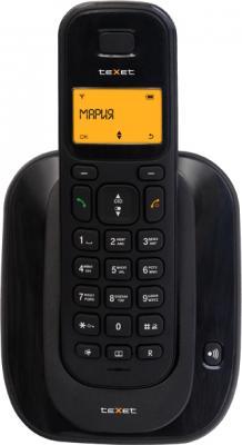 Беспроводной телефон TeXet TX-D4600A Black - общий вид