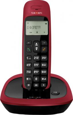 Беспроводной телефон TeXet TX-D6205A Black-Red - общий вид