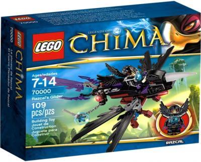 Конструктор Lego Chima Планер Ворона Разкала (70000) - упаковка