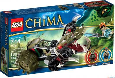 Конструктор Lego Chima Потрошитель Кроули (70001) - упаковка