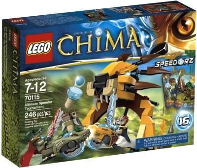 Конструктор Lego Chima Лев Леннокс атакует (70002) - упаковка