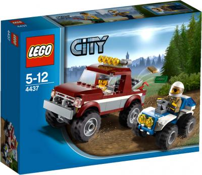 Конструктор Lego City Полицейская погоня (4437) - упаковка