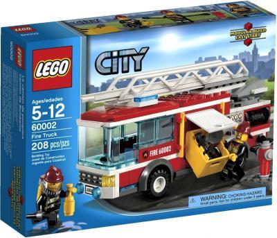 Конструктор Lego City Пожарная машина (60002) - упаковка