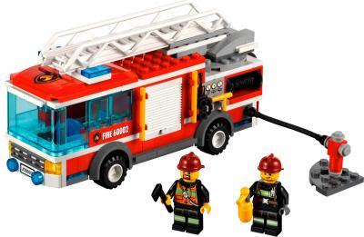 Конструктор Lego City Пожарная машина (60002) - общий вид