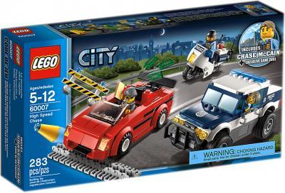 Конструктор Lego City Погоня за преступниками (60007) - упаковка