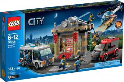 Конструктор Lego City Ограбление музея (60008) - упаковка