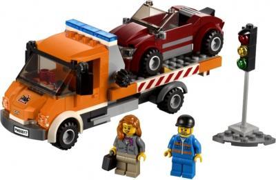 Конструктор Lego City Эвакуатор (60017) - общий вид