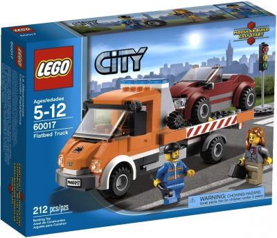 Конструктор Lego City Эвакуатор (60017) - упаковка