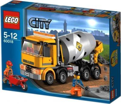 Конструктор Lego City Бетономешалка (60018) - упаковка