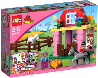 Конструктор Lego Duplo Конюшня (10500) - упаковка