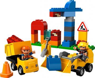 Конструктор Lego Duplo Моя первая стройплощадка (10518) - общий вид