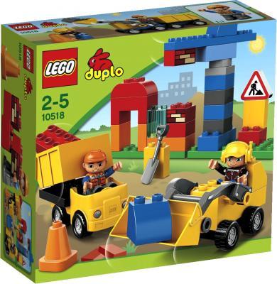 Конструктор Lego Duplo Моя первая стройплощадка (10518) - упаковка