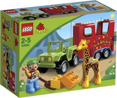 Конструктор Lego Duplo Цирковой автофургон (10550) - упаковка