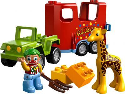 Конструктор Lego Duplo Цирковой автофургон (10550) - общий вид