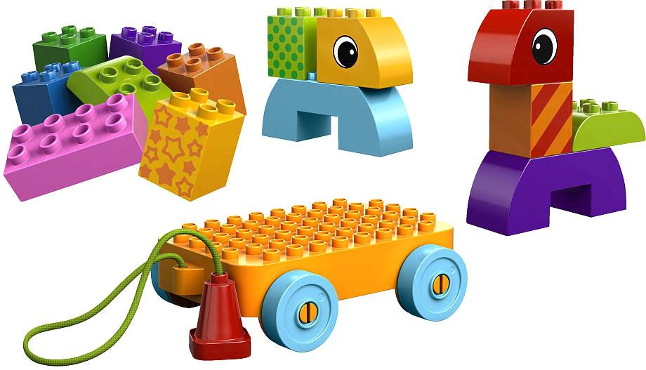 Duplo Веселая каталка с кубиками (10554) 21vek.by 286000.000