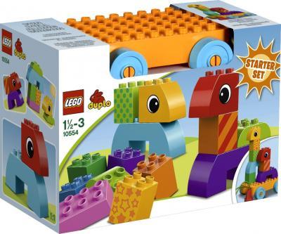 Конструктор Lego Duplo Веселая каталка с кубиками (10554) - упаковка