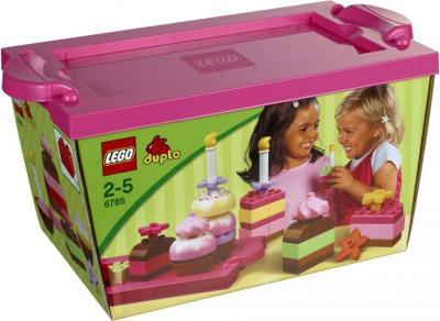 Конструктор Lego Duplo Весёлые тортики (6785) - упаковка
