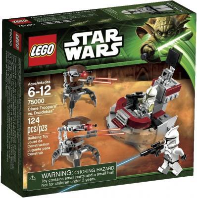 Конструктор Lego Star Wars Штурмовики-клоны против Дроидеков (75000) - упаковка