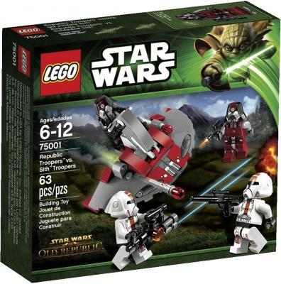 Конструктор Lego Star Wars Солдаты Республики против воинов Ситхов (75001) - упаковка