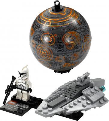 Конструктор Lego Star Wars Республиканский корабль и планета Корусант (75007) - общий вид