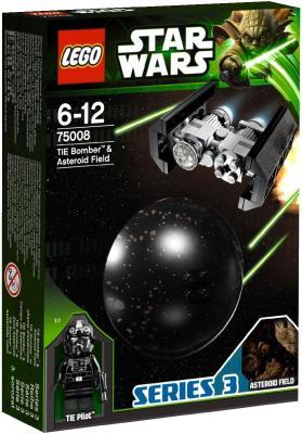 Конструктор Lego Star Wars Имперский TIE бомбардировщик и поле астероидов (75008) - упаковка