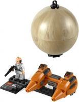 Конструктор Lego Star Wars Двухместный аэромобиль и планета Беспин (9678) -