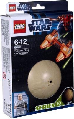 Конструктор Lego Star Wars Двухместный аэромобиль и планета Беспин (9678) - упаковка