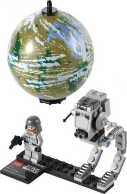 Конструктор Lego Star Wars AT-ST и планета Эндор (9679) - общий вид