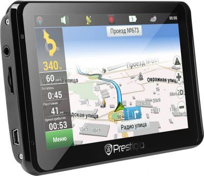 GPS навигатор Prestigio GeoVision 5850HDDVR (PGPS5850CIS8HDDVRNV) - общий вид