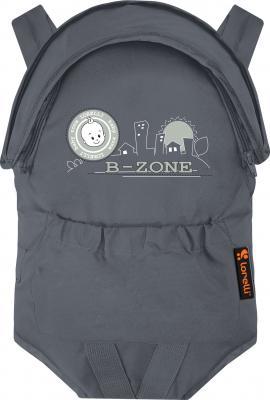 Сумка-кенгуру Lorelli Kangaroo Comfort Gray B-zone - общий вид