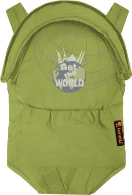 Сумка-кенгуру Lorelli Kangaroo Comfort Green Get The World - общий вид