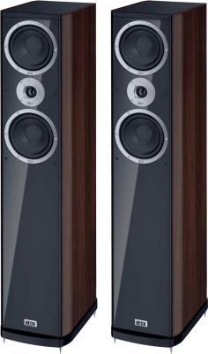 Акустическая система Heco Music Style 500 Black-Espresso - общий вид