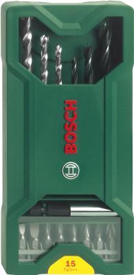 Набор оснастки Bosch X-Line Promoline 2.607.019.579 (15 предметов) - общий вид