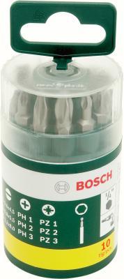 Набор оснастки Bosch Promoline 2607019454 (10 предметов) - упаковка