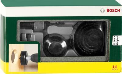 Набор оснастки Bosch Promoline 2607019450 (11 предметов) - упаковка