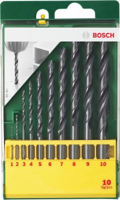 Набор сверл Bosch Promoline 2.607.019.442 (10 предметов) - общий вид