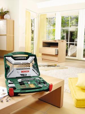 Универсальный набор инструментов Bosch X-Line Promoline 2.607.019.331 - в раскрытом виде