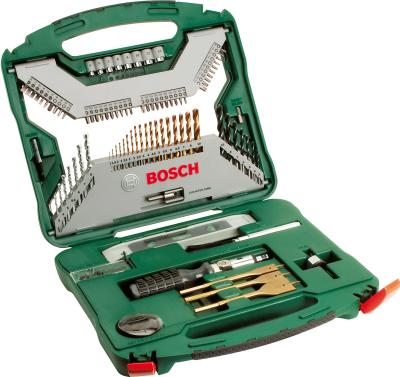 Набор оснастки Bosch Titanium X-Line 2.607.019.330 - в раскрытом виде
