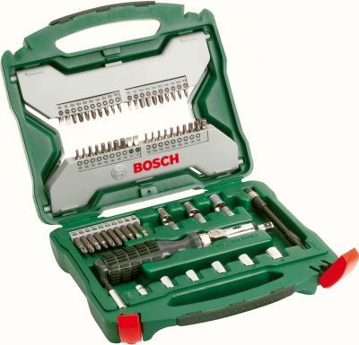 Универсальный набор инструментов Bosch X-Line Promoline 2.607.019.328 - в раскрытом виде