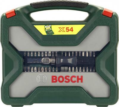 Универсальный набор инструментов Bosch Titanium X-Line 2607019326 (54 предмета) - вид спереди