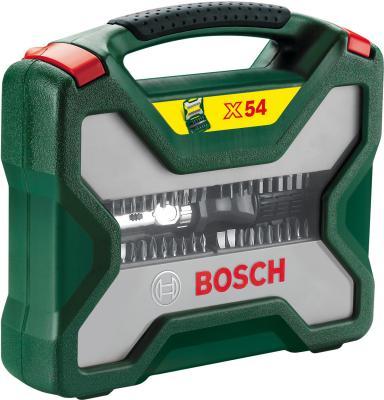 Универсальный набор инструментов Bosch Titanium X-Line 2607019326 (54 предмета) - общий вид