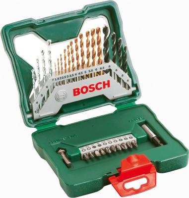 Набор оснастки Bosch Titanium X-Line 2.607.019.324 (30 предметов) - в раскрытом виде