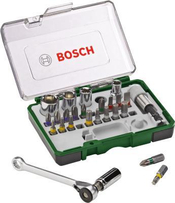 Универсальный набор инструментов Bosch Promoline 2.607.017.160 - в раскрытом виде