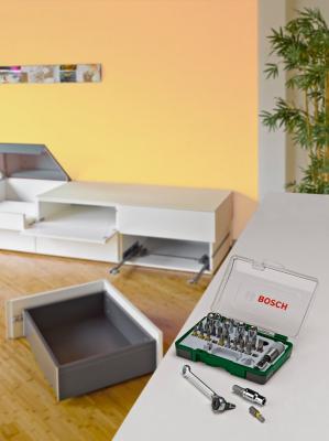 Универсальный набор инструментов Bosch Promoline 2.607.017.160 - в работе