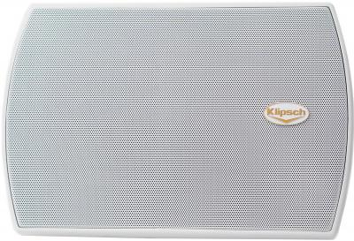 Акустическая система Klipsch AW-525 White - вид с решеткой