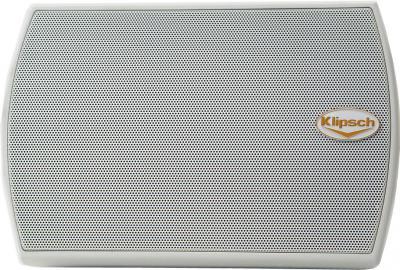 Акустическая система Klipsch AW-400 White - вид с решеткой